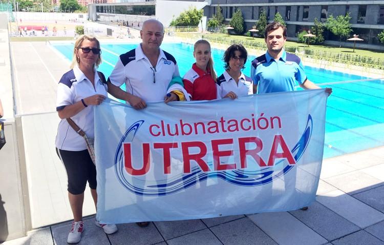 El club natación Utrera consigue medalla en el nacional de adaptada y en el andaluz alevín