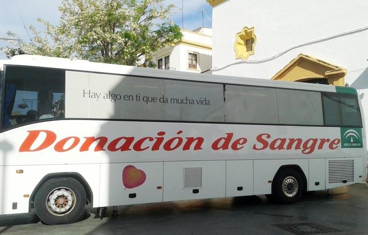 El autobús de hemodonación regresa a la plaza del Altozano