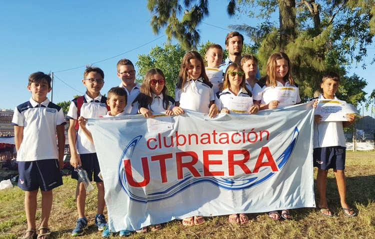 Los prebenjamines del Club Natación Utrera triunfan en el XX Trofeo Ciudad de Jerez