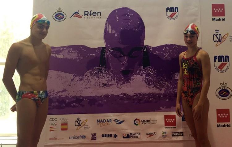 La nadadora utrerana Eloísa Payán, décima en el Campeonato de España