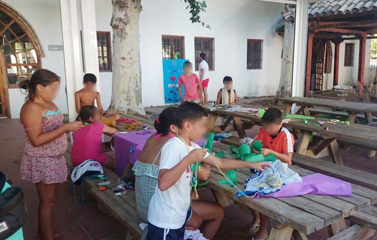 La Fundación Caparrós colabora con la colonia de verano de Los Gitanos gracias a los goles marcados en la liga de fútbol