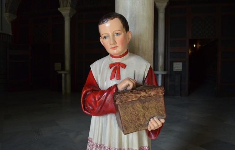 El «monaguillo de Consolación» regresa al santuario tras su restauración (IMÁGENES)