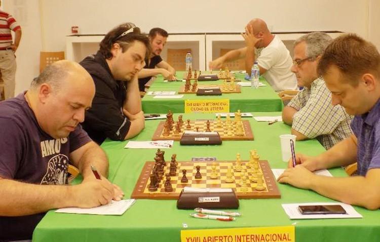 Sorpresa en la segunda jornada del abierto internacional de ajedrez