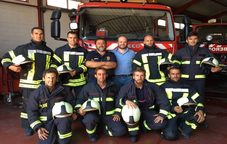 Ocho nuevas incorporaciones de bomberos se han producido este verano