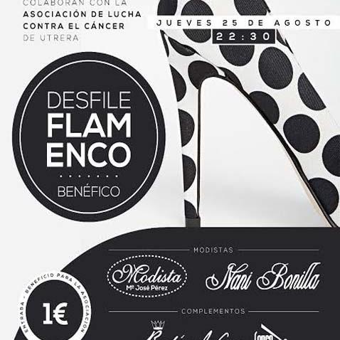 Desfile de moda flamenca a beneficio de la asociación de lucha contra el cáncer