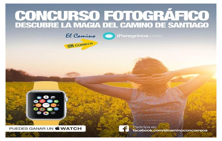 Correos organiza un concurso de fotografías sobre el camino de Santiago