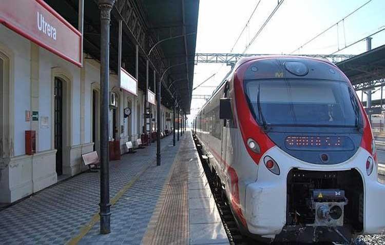 La estación de trenes de Utrera registra 719.000 viajeros de Cercanías durante 2018