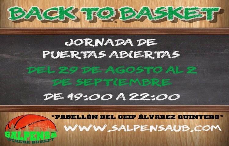 Jornada de puertas abiertas del Salpensa Utrera Basket