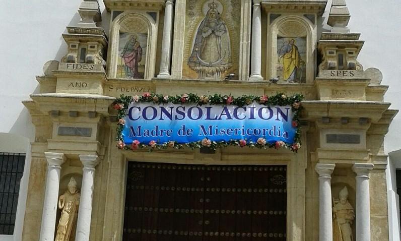 Inicio de la novena a la patrona de Utrera y horarios del santuario en feria