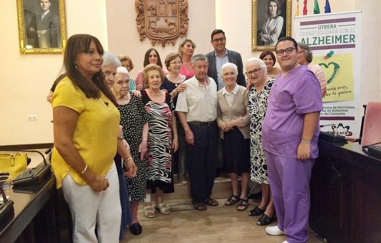 Utrera se declara «Ciudad solidaria con el alzheimer»