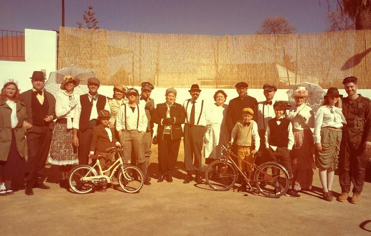 La asociación utrerana «La Sana» participará en Sevilla en un encuentro de bicicletas de época