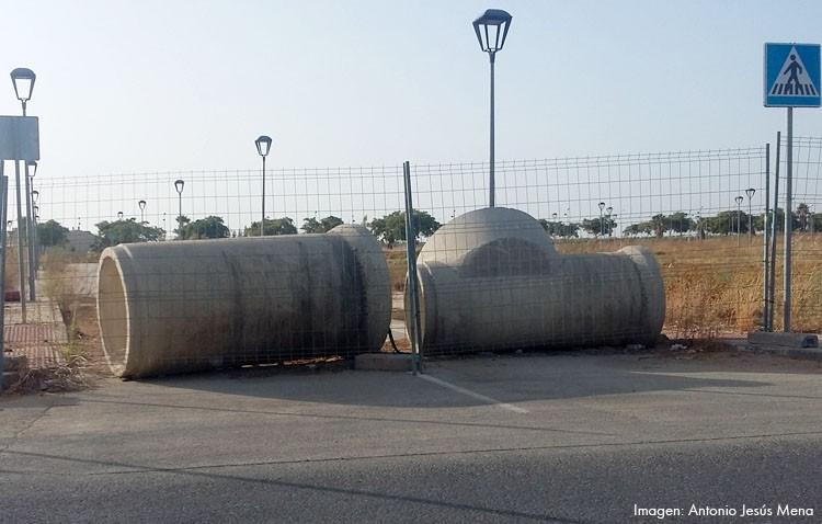 Los vecinos del Naranjal de Castillo denuncian que «viven aislados», especialmente durante la feria