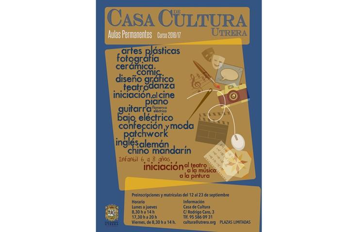 La Casa de la Cultura ofrecerá este año una veintena de cursos
