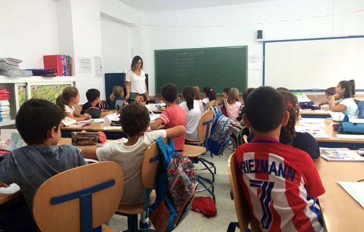 El curso comienza con los colegios a punto, tras un verano de mantenimiento