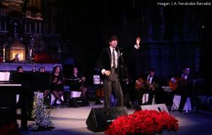 Lombo, durante su anterior recital navideño en Consolación