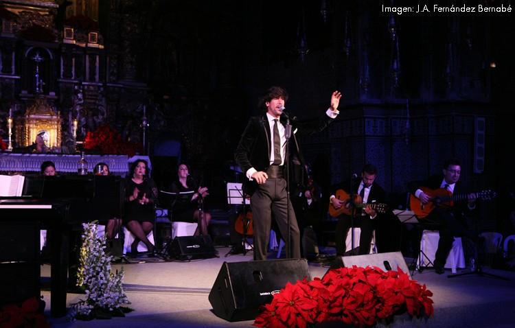 Un espectáculo de estreno para que Manuel Lombo vuelva a cantar a la Navidad en Consolación