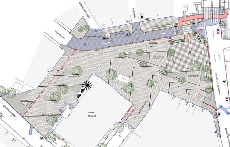 Pío XII perderá sus aparcamientos y se convertirá en una gran plaza peatonal