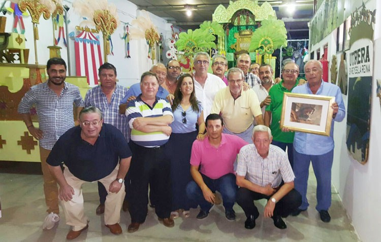 Homenaje de la hermandad de los Estudiantes a la cabalgata de los Reyes Magos
