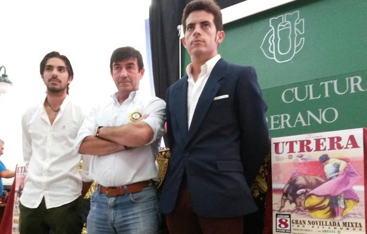 Miguel Falcón cierra la temporada en Utrera con cuatro novillos