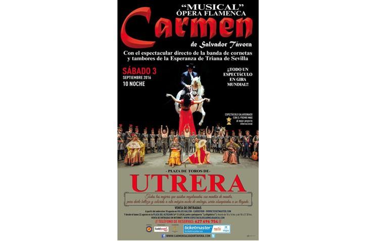 La famosa ópera «Carmen» llega a la plaza de toros
