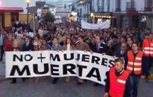 Una manifestación salió a la calle en 2004 tras el asesinato