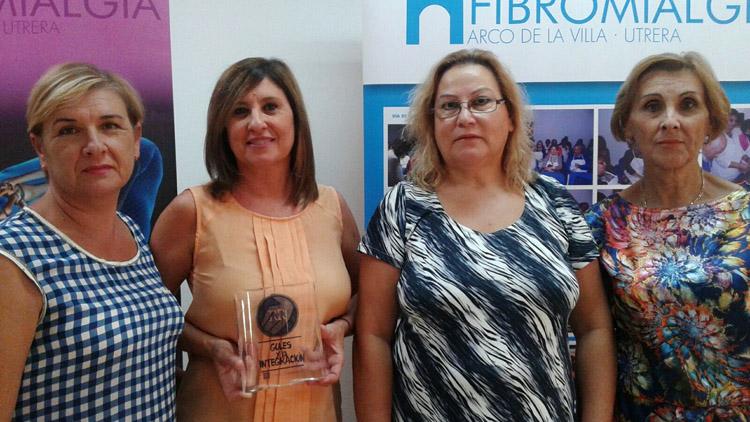 La Fundación Caparrós colabora con la asociación de fibromialgia gracias a los goles que se marquen en la liga