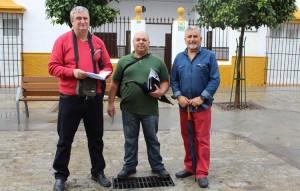 Joaquín García, Manuel Borruecos y Cristóbal Lobato
