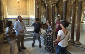 caminos pasion - visita periodistas y blogueros 2
