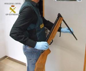 Arma empleada en el asesinato