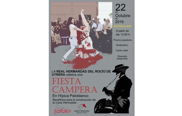 Fiesta campera a beneficio de la futura casa-hermandad del Rocío