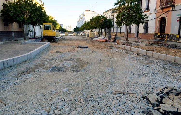 Un nuevo retraso en La Corredera pospone otra vez el final de la obra