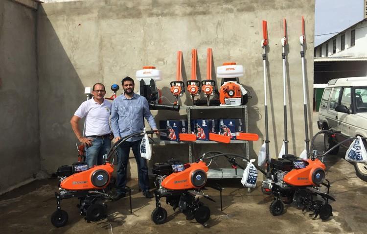 Parques y Jardines mejora su maquinaria con la incorporación de nuevas herramientas