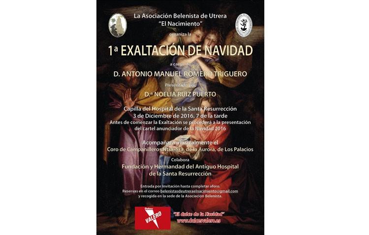 La asociación de belenistas organiza una exaltación navideña