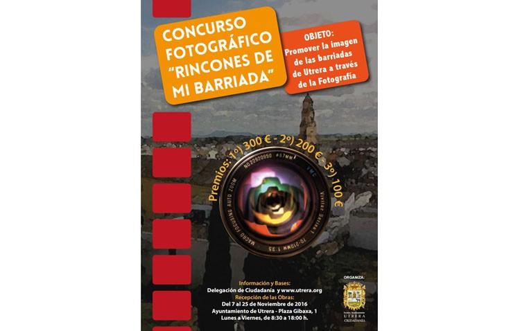 El Ayuntamiento convoca un concurso fotográfico para promover la imagen de las barriadas de Utrera