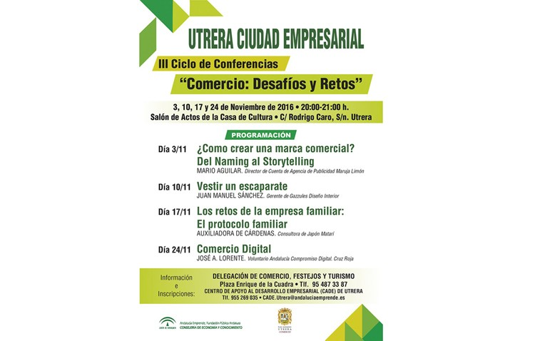 Un ciclo de conferencias para hablar de los retos y desafíos del comercio