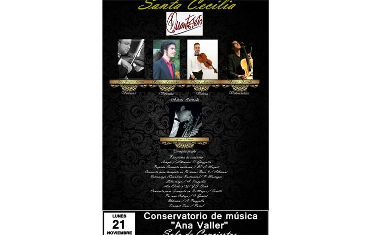 Concierto en el conservatorio por el día de Santa Cecilia