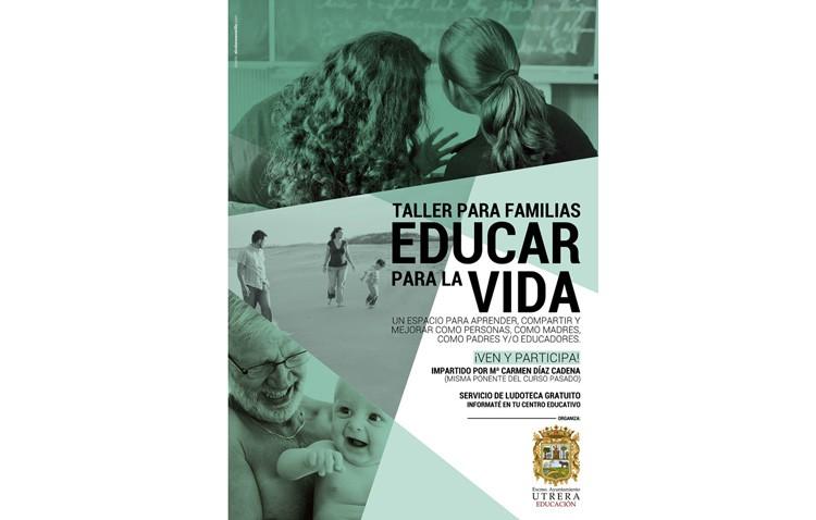 Un taller para familias que ayuda a «Educar para la vida»