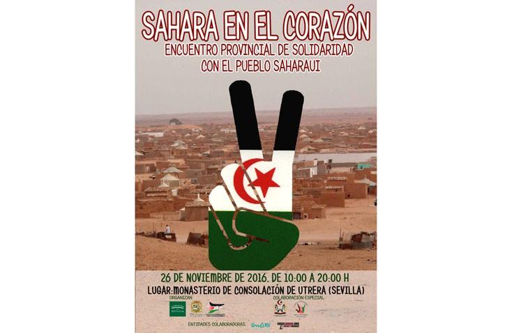 El Ayuntamiento de Utrera organiza un encuentro provincial de solidaridad con el pueblo saharaui