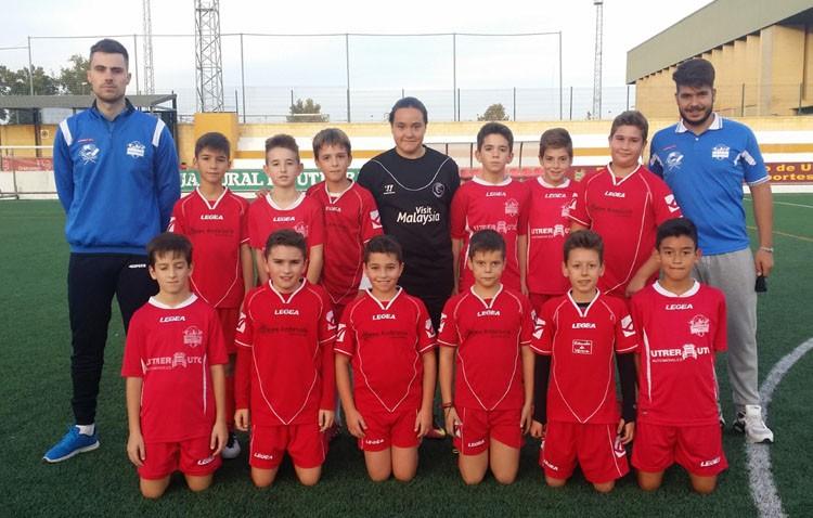 Comienza la liga de fútbol en los colegios utreranos