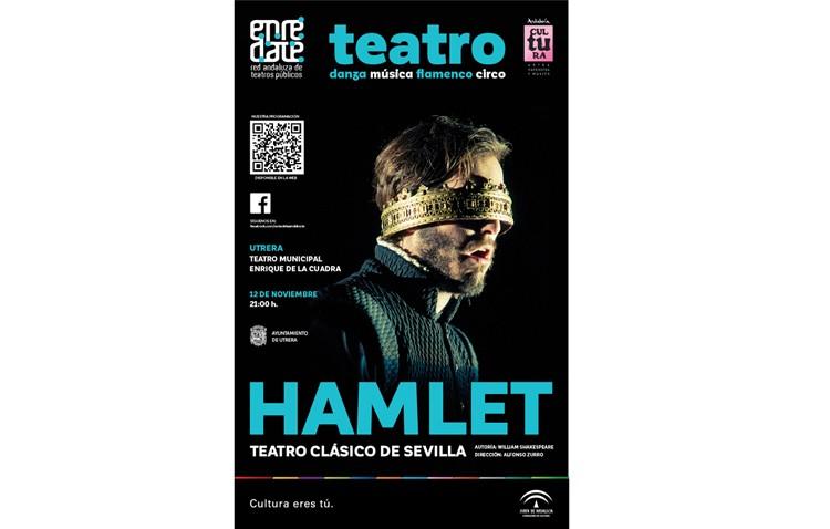 Shakespeare llega a Utrera con la representación de «Hamlet»