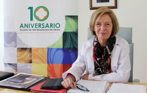 Isabel Hernández, directora del hospital de Utrera