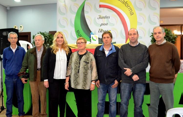 «Juntos por Utrera» celebra un acto sobre el presupuesto y las polémicas de las ediles Mª Carmen Cabra y Mª Carmen Suárez