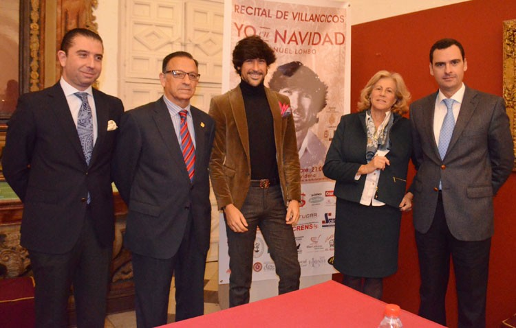 Manuel Lombo llenará Consolación de villancicos flamencos y populares con un recital que ya ha agotado sus entradas