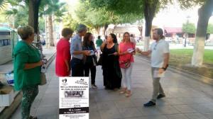 El PA realizó una campaña contra la reforma integral del paseo