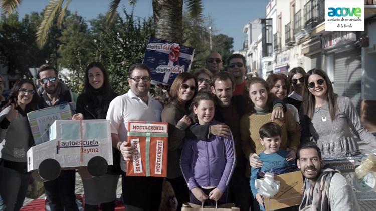 La asociación de comerciantes de La Vereda felicita la Navidad con un vídeo solidario (VÍDEO)