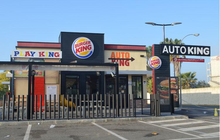 Asaltan el Burger King de la entrada de Utrera a punta de pistola