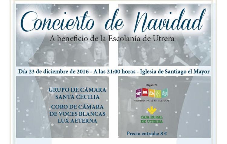 Un concierto de Navidad a beneficio de la escolanía de Utrera