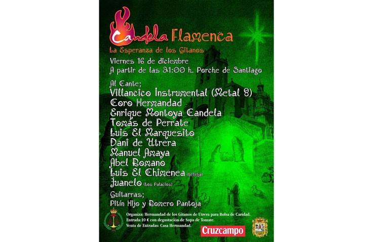 La hermandad de los Gitanos organiza una candela flamenca con una decena de actuaciones