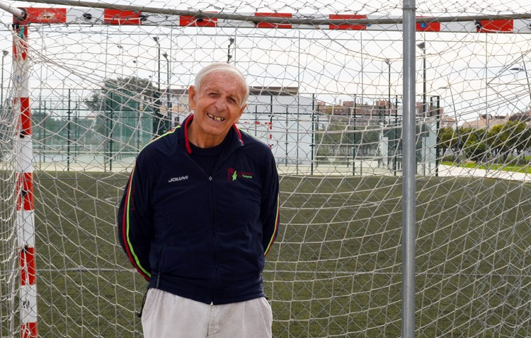 Juan Márquez, un utrerano que inventó el «tiki-taka» antes que Johan Cruyff