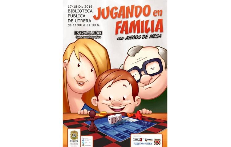 Dos jornadas para «jugar en familia» en la biblioteca